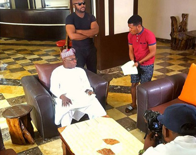 Obasanjo makes film debut in Youtube skit