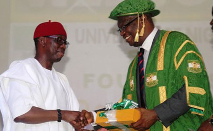 Okowa bags award from UNN