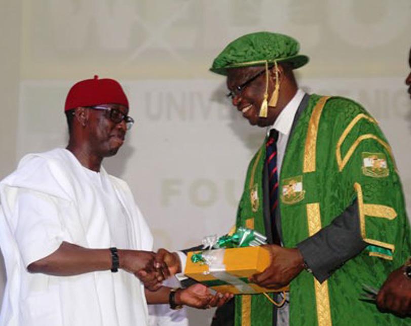 Okowa bags award from UNN