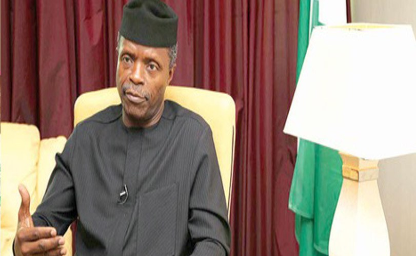 We'll expand N-Power from current 500,000 jobs annually, says Osinbajo.