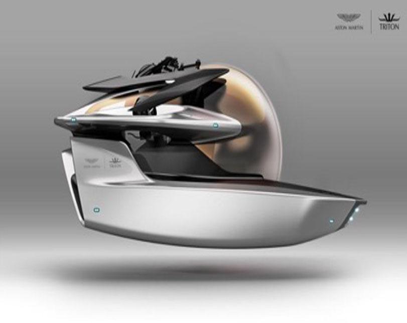 Aston Martin reveals new Submarine venture