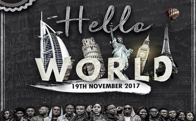 The Gratitude COZA launch 'Hello World album today