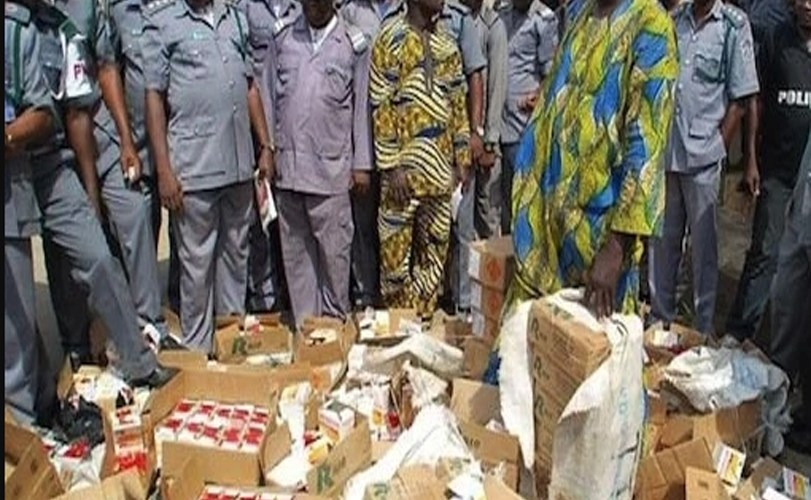 38 cartons of illicit drugs with twenty million naira has been confiscated by Kano and Jigawa custom command.