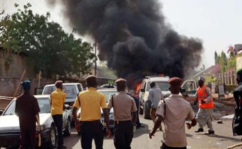 PHOTOS: 18 killed, 24 injured as suicide bombers hit Mosque, Other Place in Maiduguri