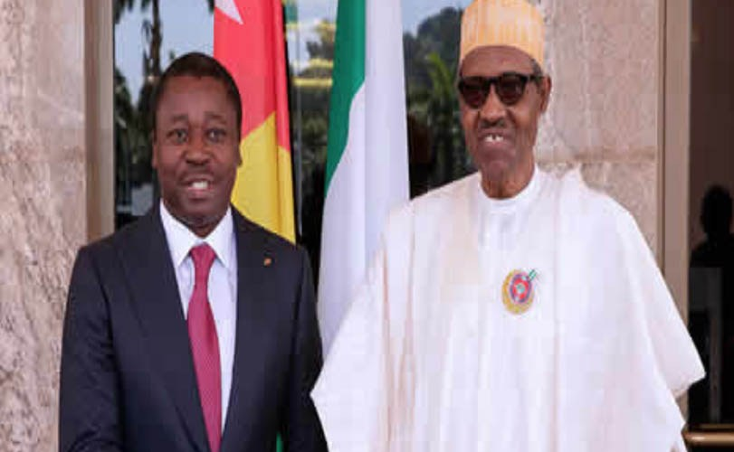 Buhari in closed-door meeting with Togolese president at Aso villa