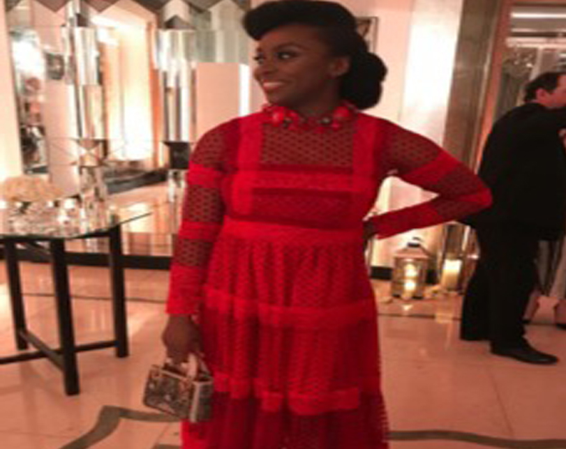 Chimamanda Adichie steps out in style at the Harper's Bazaar Women of the Year Awards in London