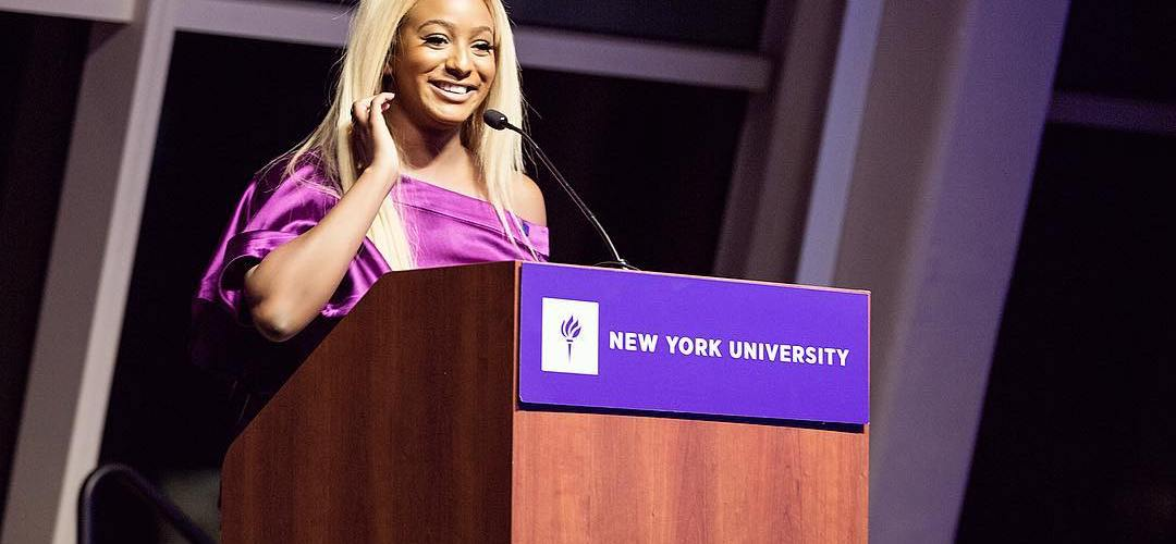 DJ Cuppy Is All The Way Up As She Bags Award From New York University