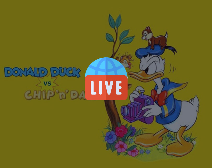 Cartoon: Donald Duck & Chip and Dale Cartoon – Live 24/7