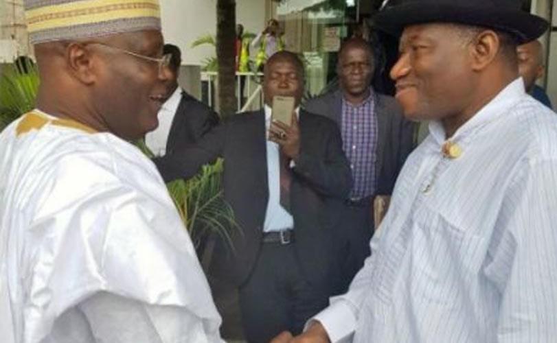 Jonathan To Atiku: Go Beg Obasanjo, You'll Get PDP Ticket