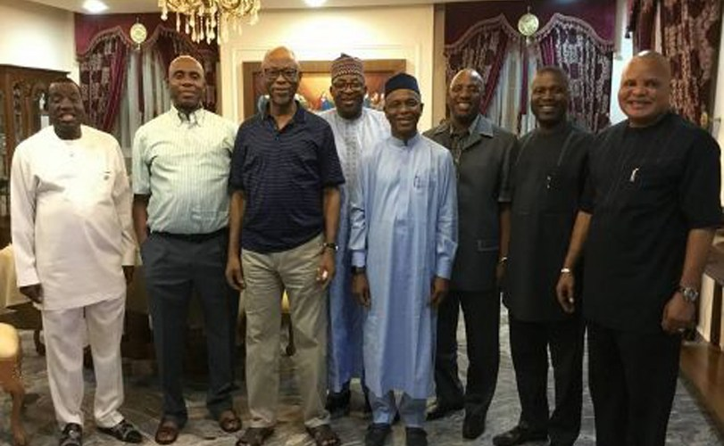 Rotimi Amaechi Hosts Governors, APC Leaders In His Abuja Residence