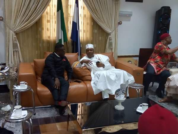 Saraki, Ekweremadu, Dino Melaye In Calabar For Southeastern Senators Retreat