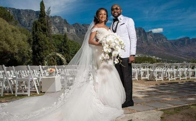 #BAAD2017: Photos & Video From Adesua Etomi And Banky W's Grand Wedding In South Africa