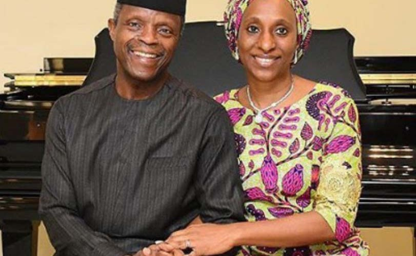 Osinbajo shares heart-warming message with wife as they mark wedding anniversary