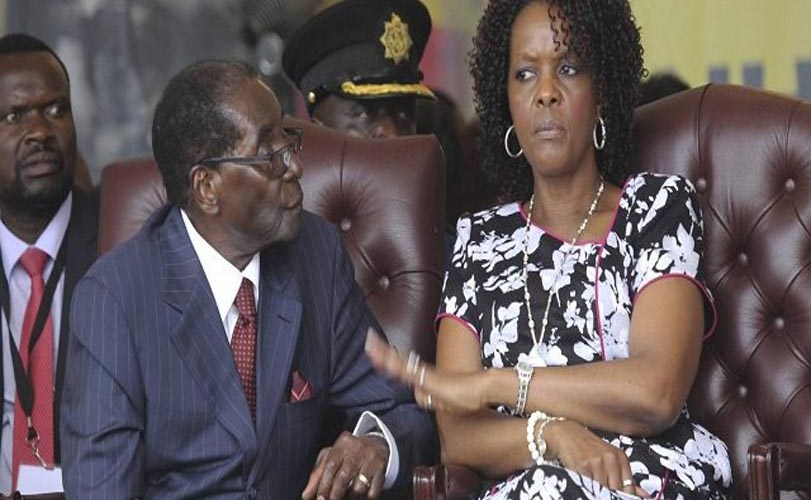 In Zimbabwe: Grace Is Mugabe's Headache