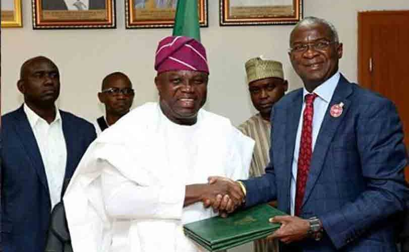 20 years after, Federal Government completes the final handing over of the Marina Presidential Lodge the Lagos State