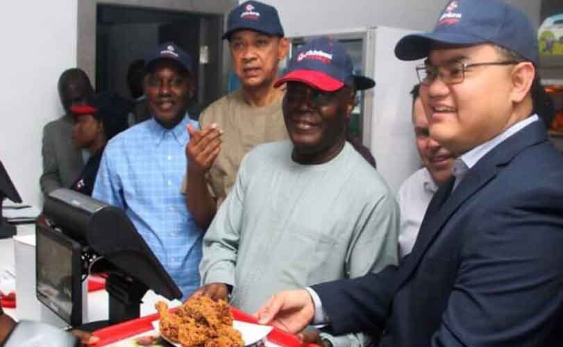 Photos: Atiku opens 'Chicken Cottage' restaurants across the country to empower local farmers