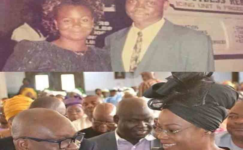 Throwback photo of Governor Fayose and his wife as they celebrate their 29th wedding anniversary