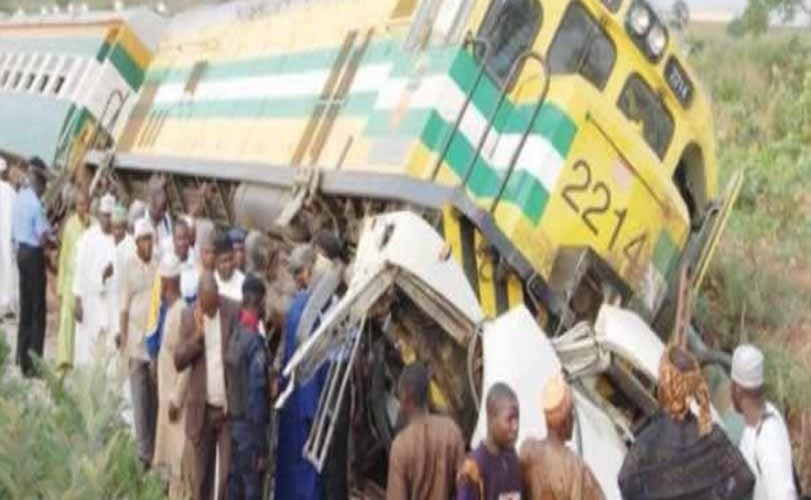 Kaduna-bound train derails in Ibadan