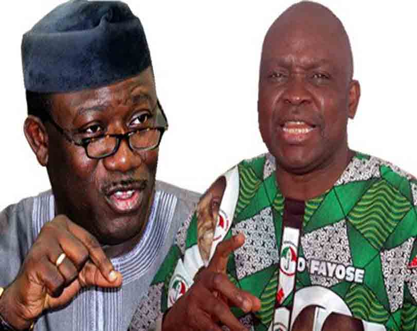 Fayose Can Only Vote And Return To Afao On Election Day – Fayemi