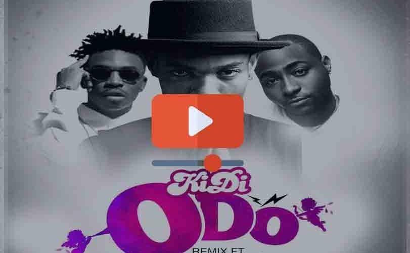 KiDi ft Mayorkun and Davido – Odo Remix (Official Video)