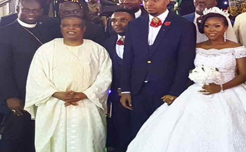Photos: Nigerian clergyman survives ghastly car accident while heading to his son's wedding