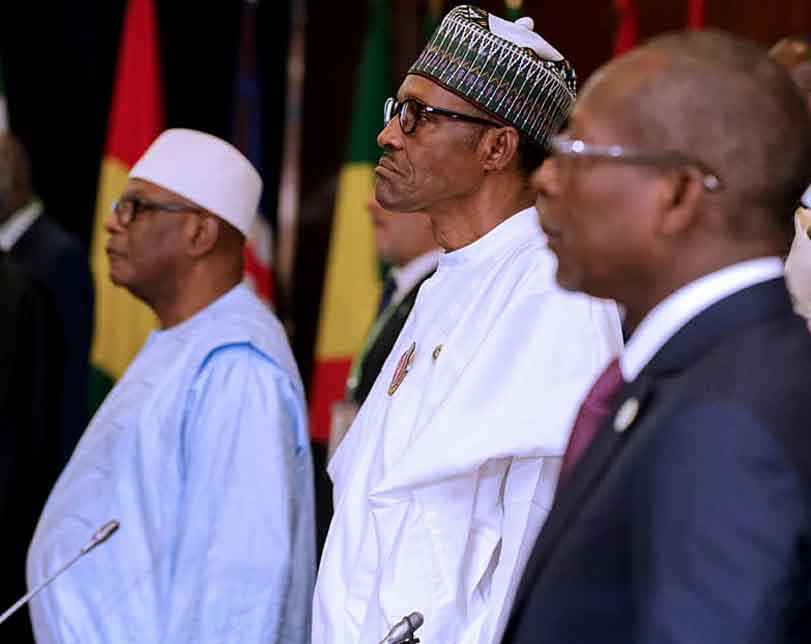 Photos: President Buhari attends 52nd ECOWAS Heads of State Summit in Abujaand Seeks Regional Cooperation In Evacuation, Resettlement Of Stranded Migrants