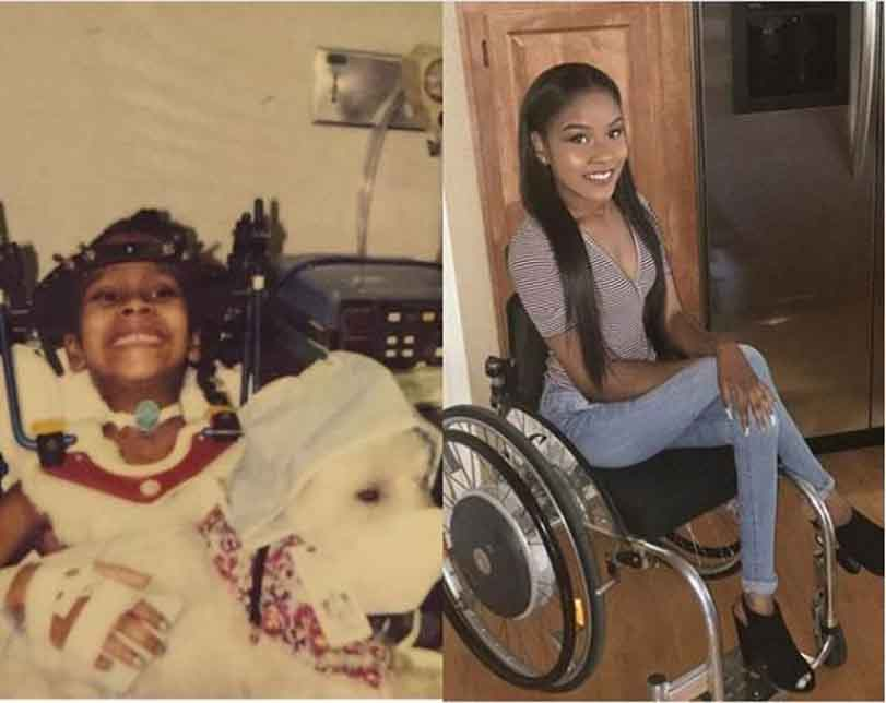 Photos: Disabled doesn't mean unable' – Pretty lady says as she celebrates 17th Anniversary of car accident that left her Paralysed