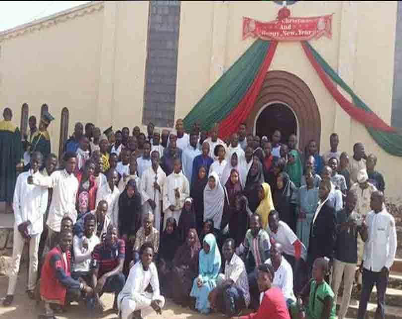 Photos: Shiites members attend Christmas service at a church in Jos