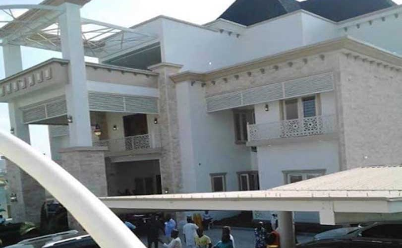Photos from the opening of Governor Yahaya Bello's billion Naira mansion in Okene