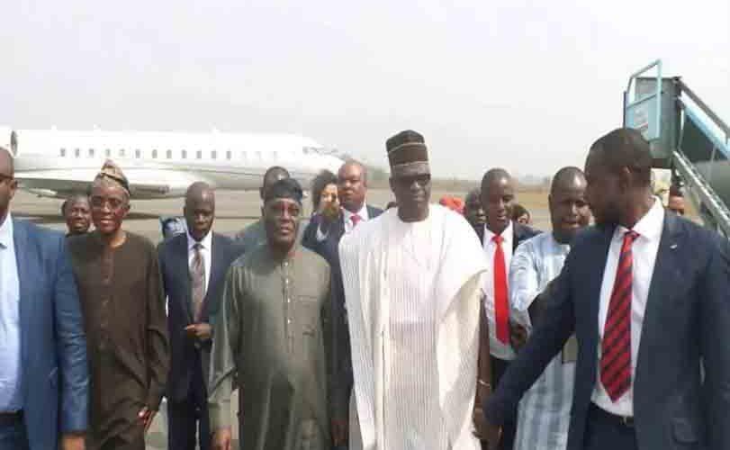 Photos: Atiku Abubakar visits Governor Ayo Fayose in Ekiti state