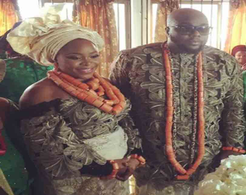 Photos from singer, Omawumi's traditional wedding holding in Warri, Delta state