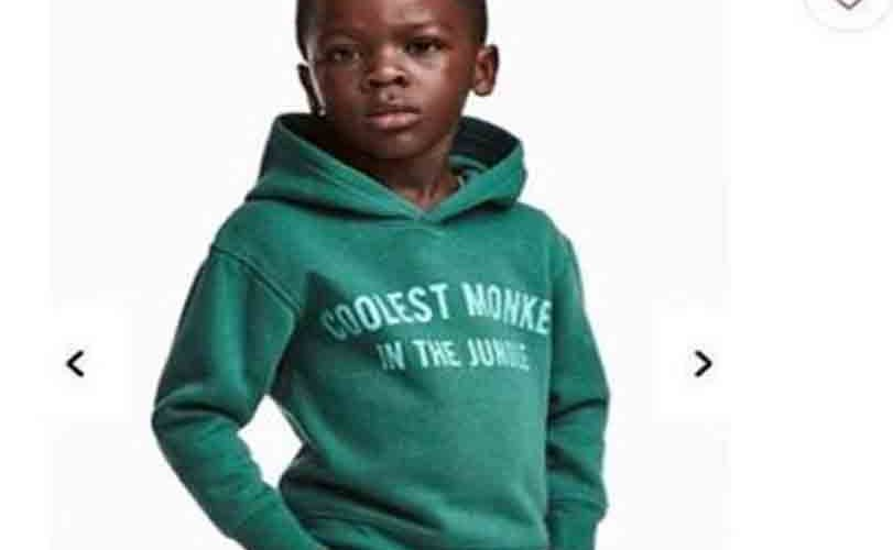 """H&M apologizes for modeling black child In """"Coolest Monkey In The Jungle"""" hoodie"""