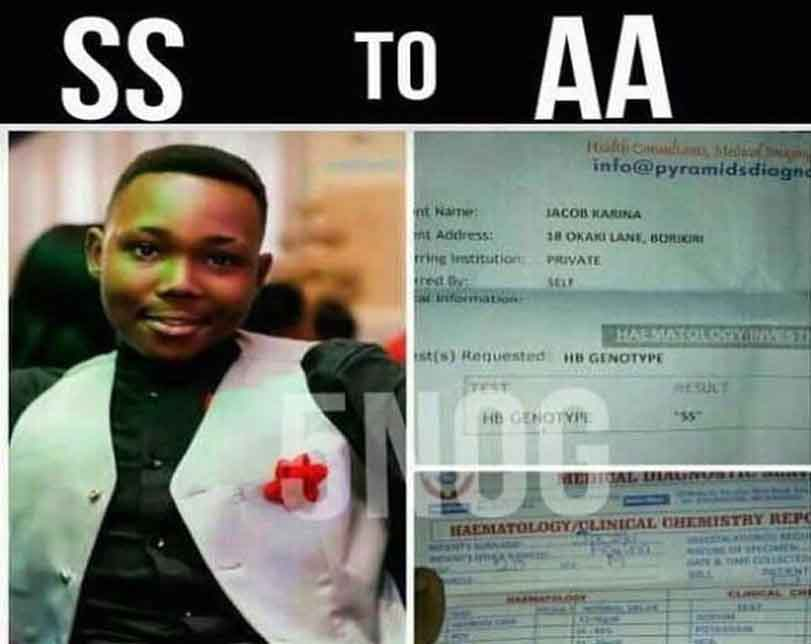 Man's genotype reportedly changes from SS to AA after attending Pastor Ibiyeomie's '5 Nights of Glory crusade