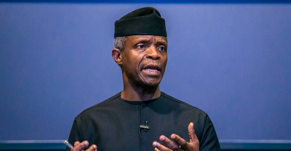 """I am Nigeria's first born-again Vice-president that is also a Pastor"" VP Yemi Osinbajo says"