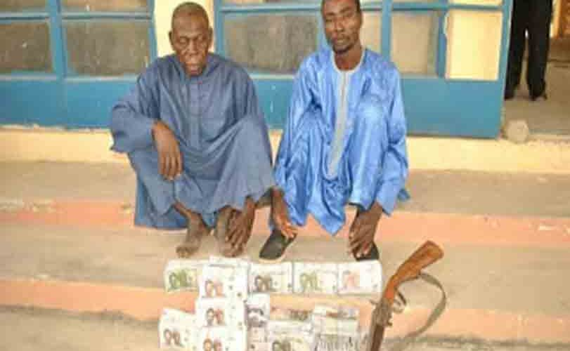 Police arrest two over possession of fake currency in Niger State; recover firearm, N8m suspected to be counterfeit