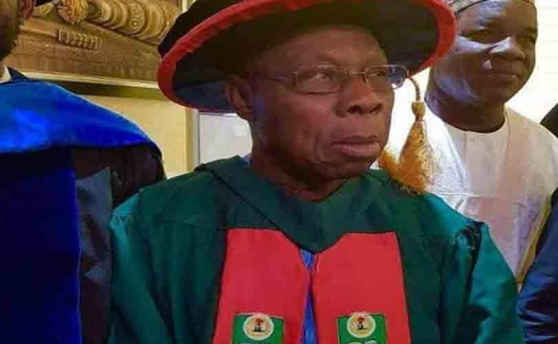 Photos: President Olusegun Obasanjo graduates with PhD from National Open University