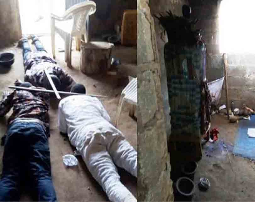 Suspected ritualist arrested in Osun State.