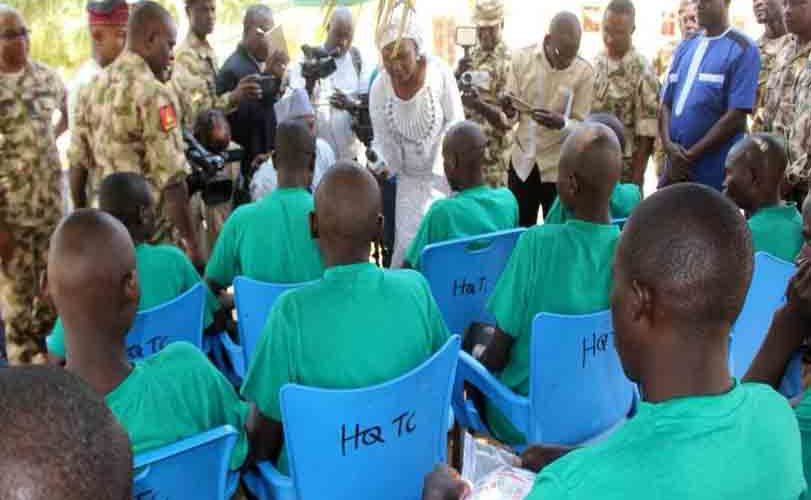 Photos: 26 Boko Haram insurgents surrender to Nigerian Army