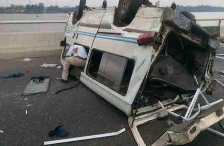 Auto Crash Kills Conductor On Lagos-Ibadan Highway