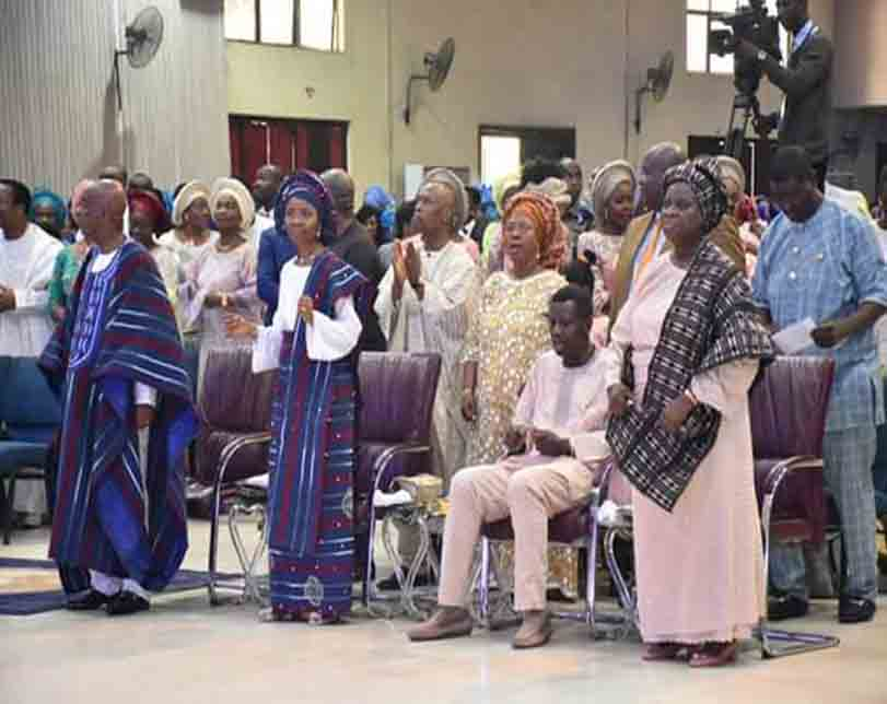 """Photos: """"Death came to seize her in 2004 but Jesus stepped in to destroy the devil"""" – Bishop Oyedepo celebrates wife at 60"""