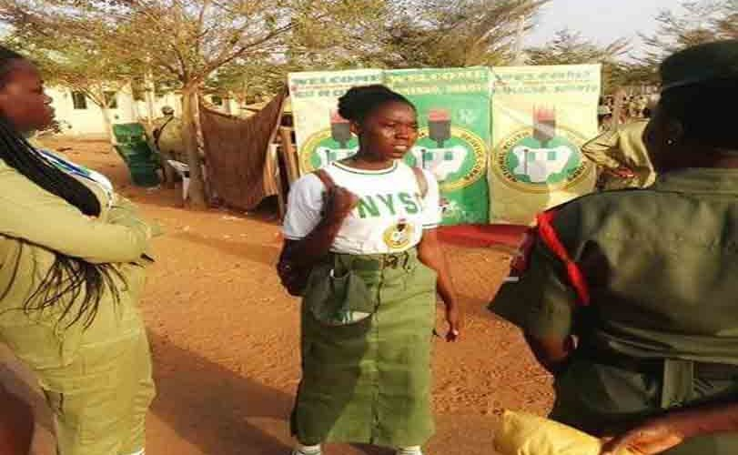 Photos: 'Deeper Life' Corps member spotted wearing skirt at Wamakko orientation camp, Sokoto