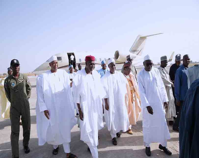 Photos: Federal government sends delegation to the 3rd day prayers for late father of Chief of Army Staff, Buratai