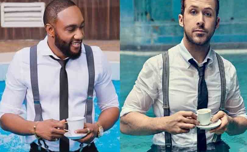 Kcee vs actor Ryan Gosling: Who killed the look?