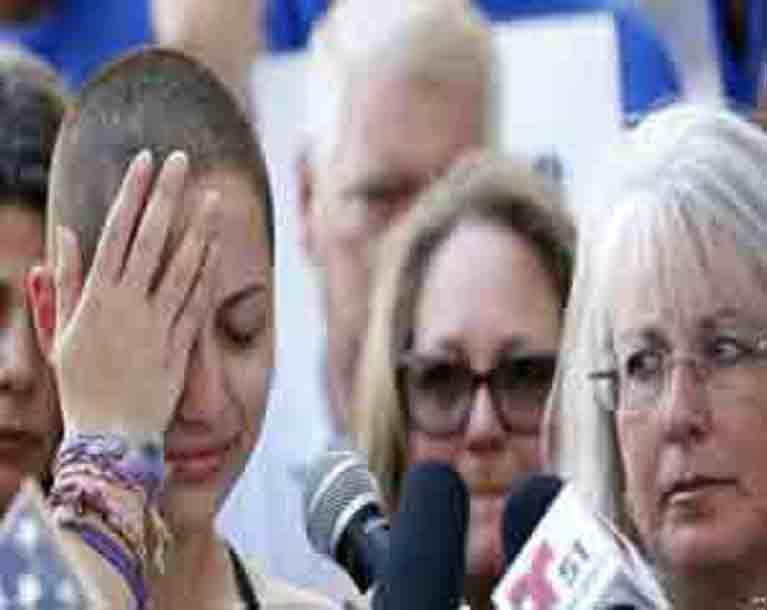 Florida Shooting Survivors Rally For Stricter Gun Controls