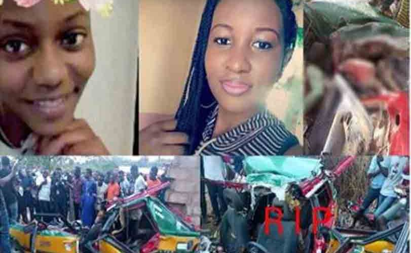 TRAGIC! 2 Female Students, NYSC Member Die On The Spot After Fatal Accident