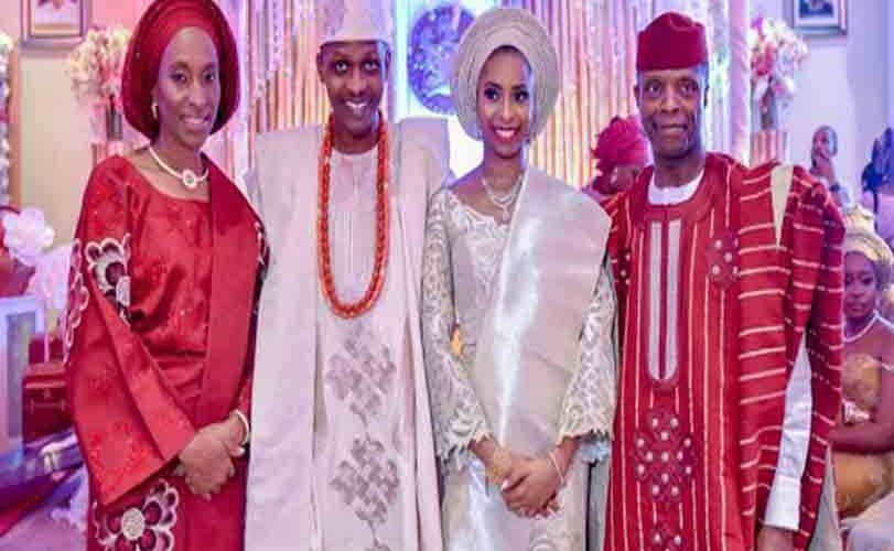 Osinbajo holds private engagement for his daughter in Aso Rock