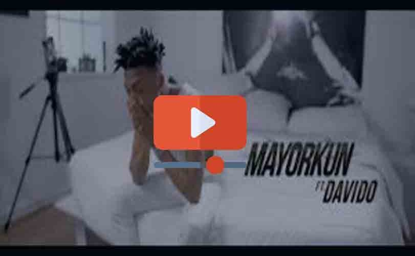 Mayorkun ft. Davido – Bobo (Official Video)