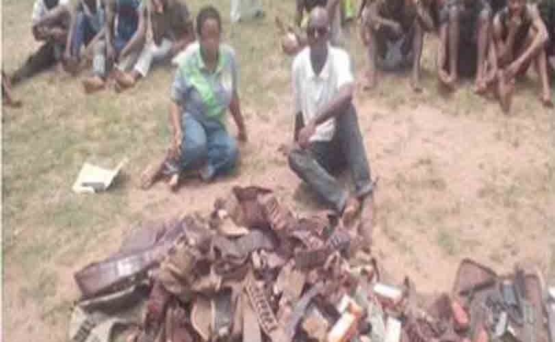 Female NSCDC Official & Her Husband Arrested For Gunrunning