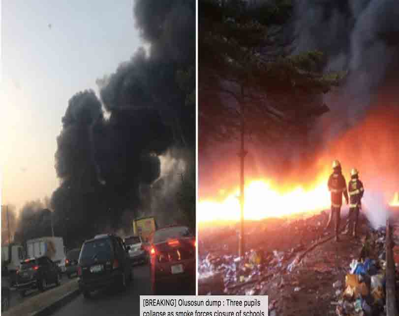Dump fire: Lagos tells Olusosun residents to relocate