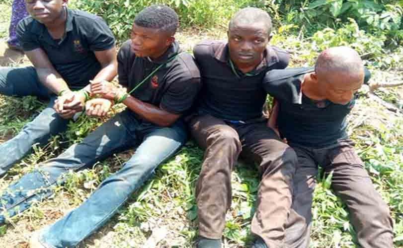 Lagos Vigilante Members Land In Trouble After Abducting A Man